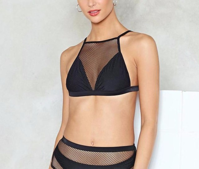Custom Teen Transparent Sheer Mesh Bikini Young Girl Swimwear