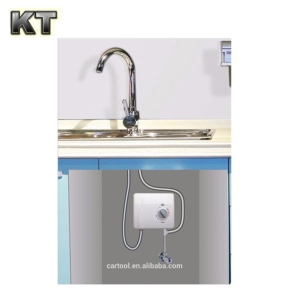 instant water heater kitchen sink delta single handle faucet installation undersink portable electric shower