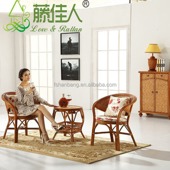 wicker living room sets best brown color for hotsale rattan cane wood bentwood chairs and tables set