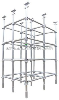 Auto Hdg Step Ladder Scaffolding Building Construction