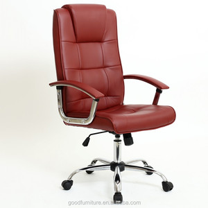 revolving chair manufacturer in lahore childrens wooden table and chairs china red office manufacturers of1128 pu leather executive zhejiang classic swivel