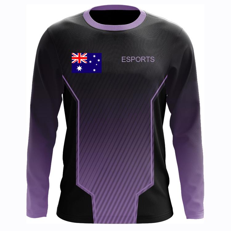Download Template Kaos Olahraga Lengan Panjang - Desain Kaos Menarik