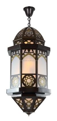 Arabic Lantern Hotel Lobby Decorative Big Pendant Lamp ...