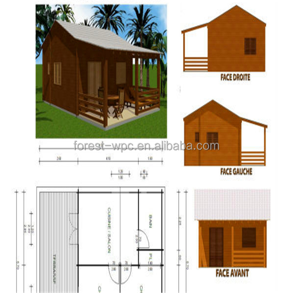 Wpc frstech stock co ltdpequea casa de maderasubterrneo casas de madera prefabricadas de bajo coste casasCasas prefabricadas