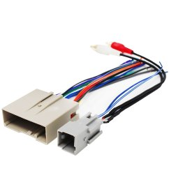 get quotations replacement radio wiring harness for 2005 ford escape xlt no boundaries sport utility 4 door [ 1500 x 1500 Pixel ]