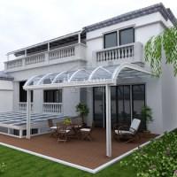 Sturdy Aluminium Polycarbonate Patio Cover,Balcony Canopy ...