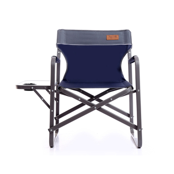 outdoor folding chair with side table dark brown dining chairs hot sell picnic fishing hiking camping bbq aluminum metal a