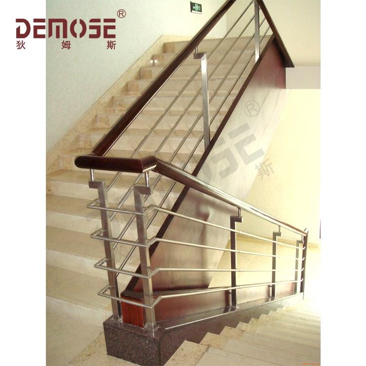 Stair Rails Wood Stainless Steel Handrail Railings Price Buy | Steel Stair Railing Price | Metal | Design | Steel Ordinary | Mild Steel | Ss Steel