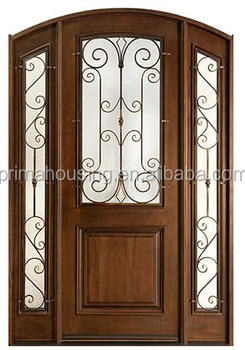 Double Front Wooden Doors/luxury Front Door Design