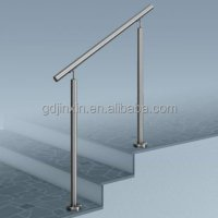 Stainless Steel Stair Step Safety Exterior Handrail ...
