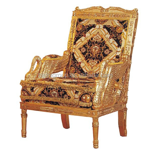 alibaba royal chairs chair sash accessories luxury italian style golden arm with fancy brand fabric bf11 11221a