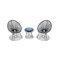 Patio String Chair Round Wooden Kitchen Table And Chairs Garden Furniture Outdoor Egg Buy