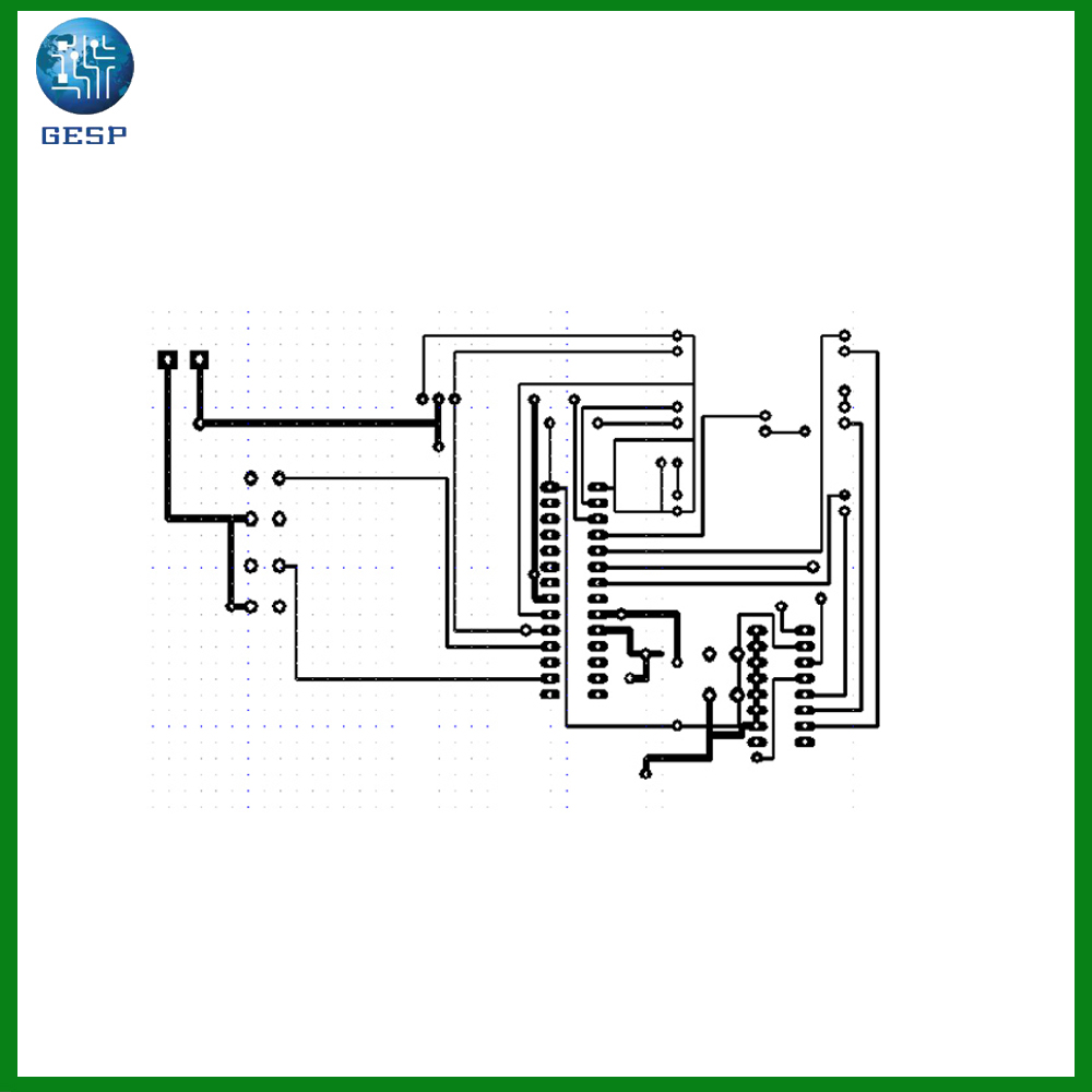 hight resolution of  avr pcb
