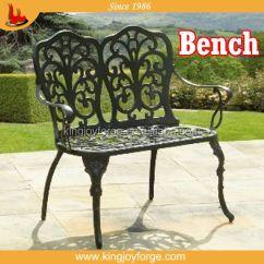2 Seater Love Chair Steel Hd Image Cast Aluminium Garden Bench Buy