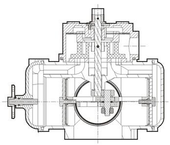 Flow Meter For Fuel Dispenser In Gas Station With Pulser