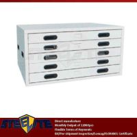 Low Horizontal Drawing Filing Cabinet With 5 Drawers/used ...