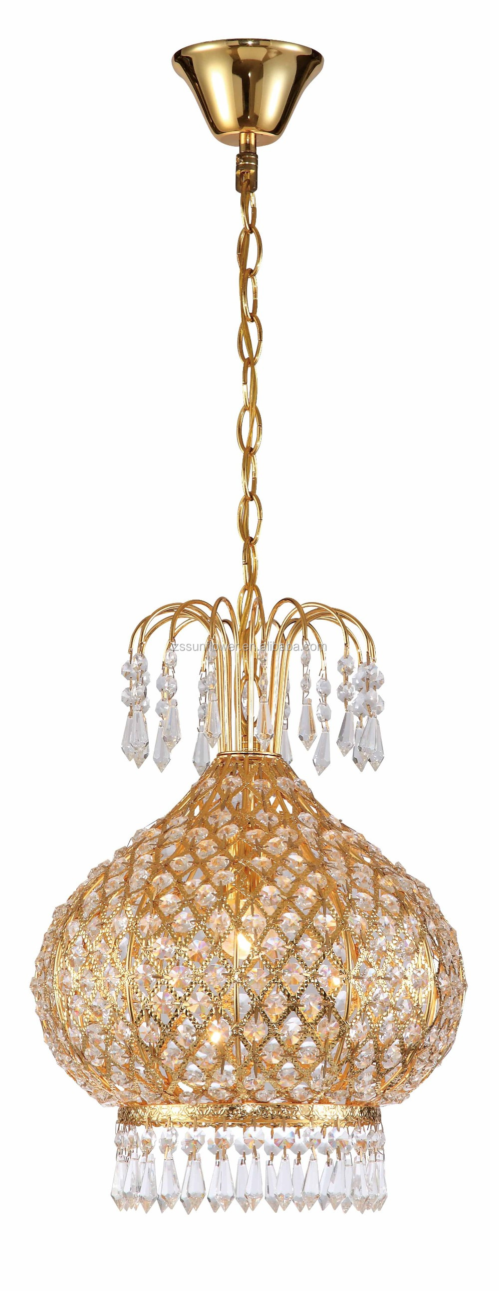Indoor Crystal Hanging Lamp Luxury Pendant Lamp Party