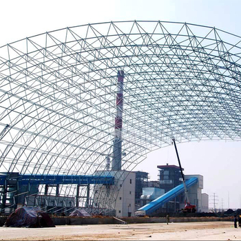 Economic Steel Structure Space Frame System Arch Coal