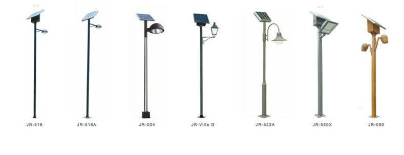 Solar Powered Outdoor Lamp Post Light (JR-Villa P), solar
