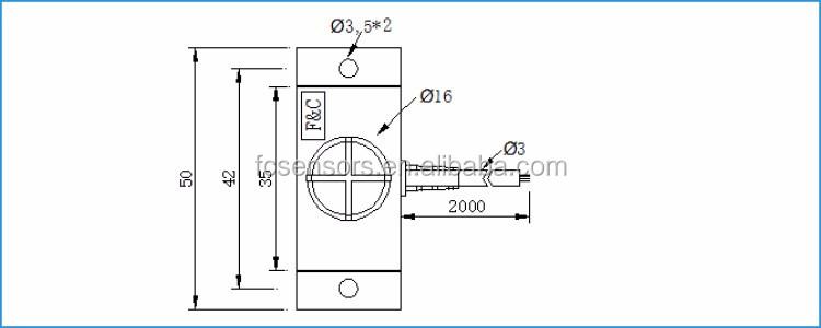 12v Flat Capacitive Proximity Sensor Non-contact Liquid