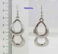 Korean Fashion Double Hole Earrings