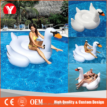 pool floating lounge chairs hanging tree chair adult float raft boats inflatable swan shaped