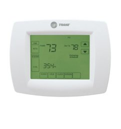 get quotations trane single stage thermostat 7 day programmable touchscreen thermostat tcont800as11aaa th8110u1045  [ 1000 x 1000 Pixel ]