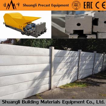 Steel Reinforced Prestressed Concrete Lintel Roof Forming Machine Precast
