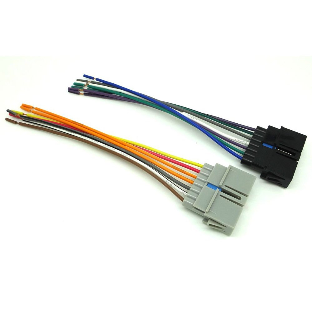 medium resolution of chrysler dodge jeep car stereo cd player wire harness aftermarket radio install 1997 2002 jeep eagle wrangler sk1817 11