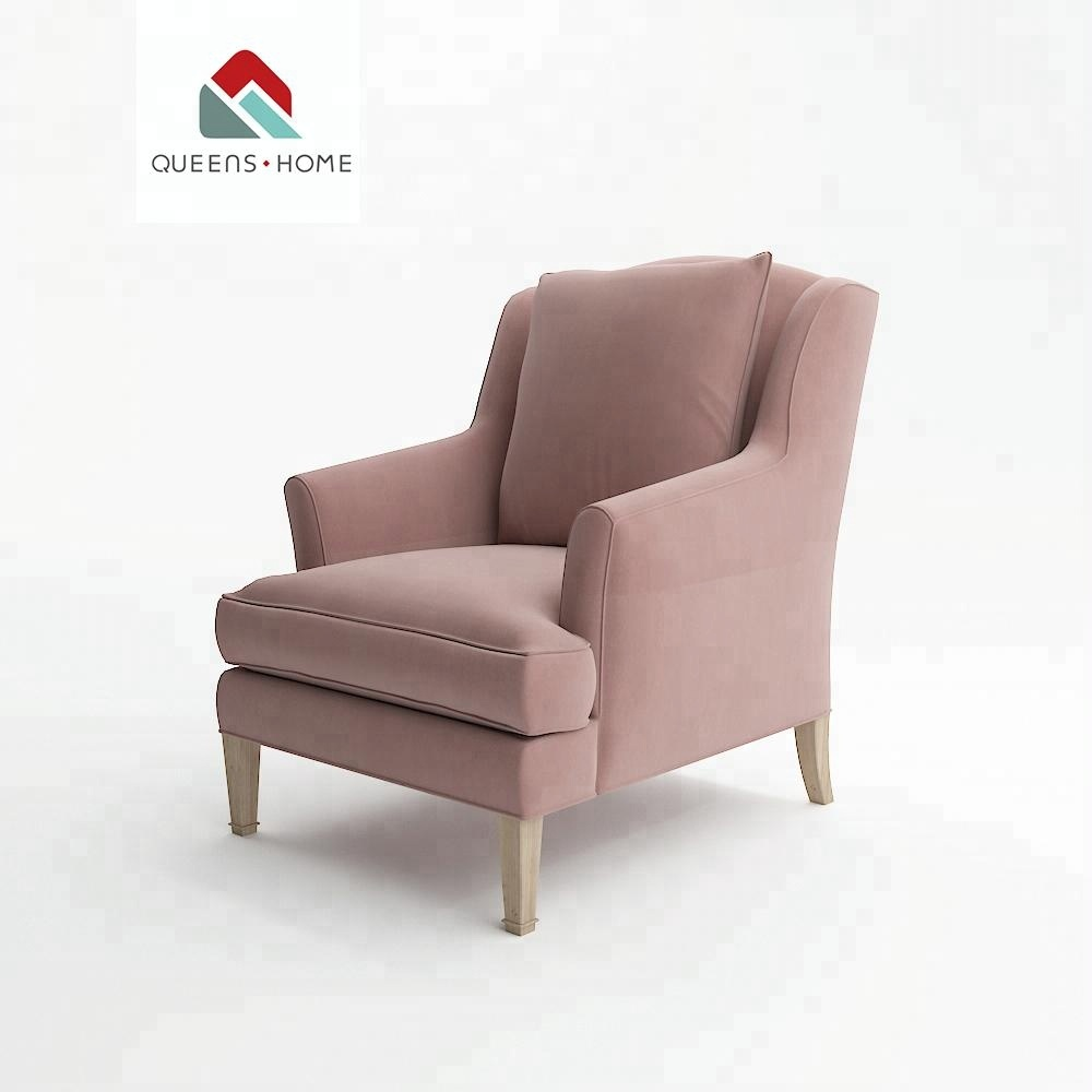 Tufted High Back Chair Pink Baby Cafe Arm Button Tufted Chesterfield High Back Wing Modern 1 Single Seater Sofa Chair Chairs Buy Single Seater Sofa Chairs Revolving Sofa