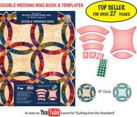 Double Wedding Ring Template Set - Buy Quilting Templates ...