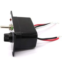 get quotations magideal marine bilge pump led fused circuit breaker switch panel manual off auto [ 1024 x 1024 Pixel ]