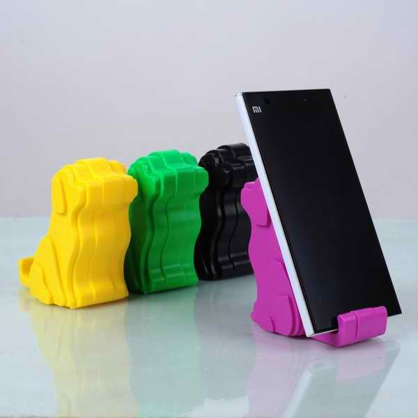 Colorful Dogs Funny Cell Phone Holder For Desk Buy Funny