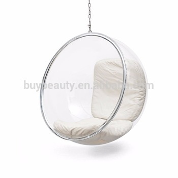 hanging chair clear inexpensive folding chairs bubble cheap buy