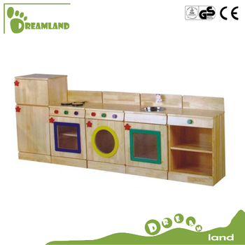 solid wood toy kitchen oakley sink review hand crafted pretend play set buy kids wooden product