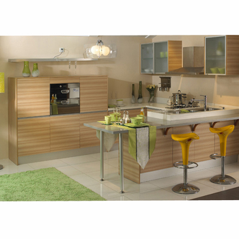 Modern Melamine Modular Kitchen Designs 20 Years' Oem,Cebu ...