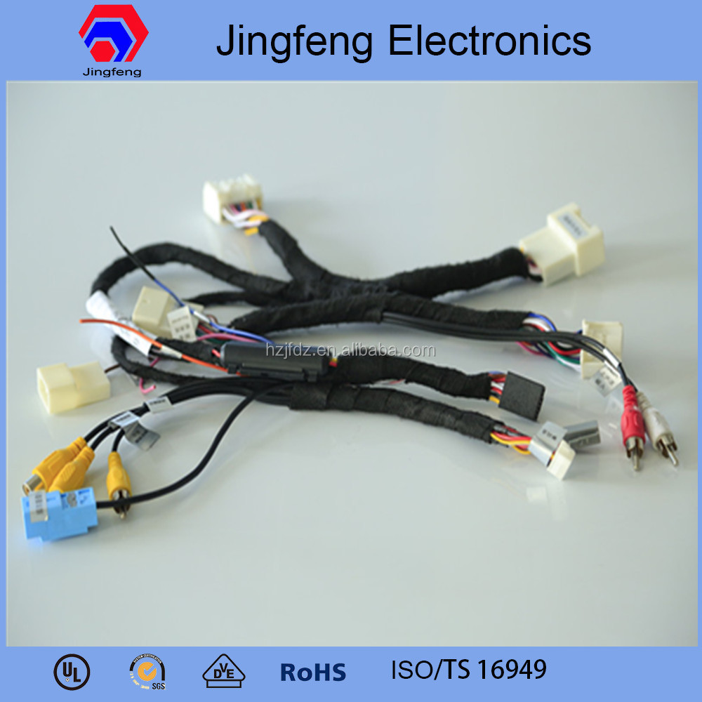 medium resolution of automotive wiring harness cable assemblies for toyota prado