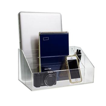 Clear Acrylic Desktop Organizer Office Desk Organizers