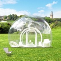 Outdoor Camping White Igloo Inflatable Clear Bubble Tent ...