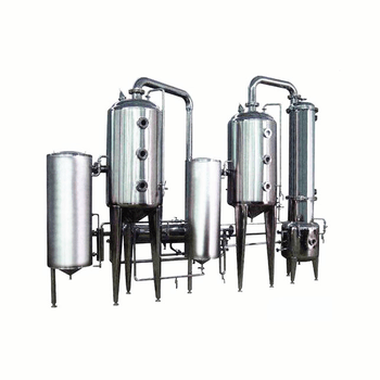 Double Effect Falling Film Evaporator And Ethanol Recovery