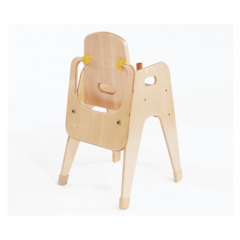 best folding high chair ergonomic edmonton factory price solid wooden montessori safety baby chairs with quality