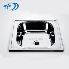 Single Bowl Cast Iron Kitchen Sink Free Makeover Outdoor Rectangular Basin Oval Undermount Clips Cheap Sinks