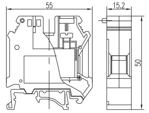 Uk35i Screw Type Terminal Blocks With Made In Wenzhou
