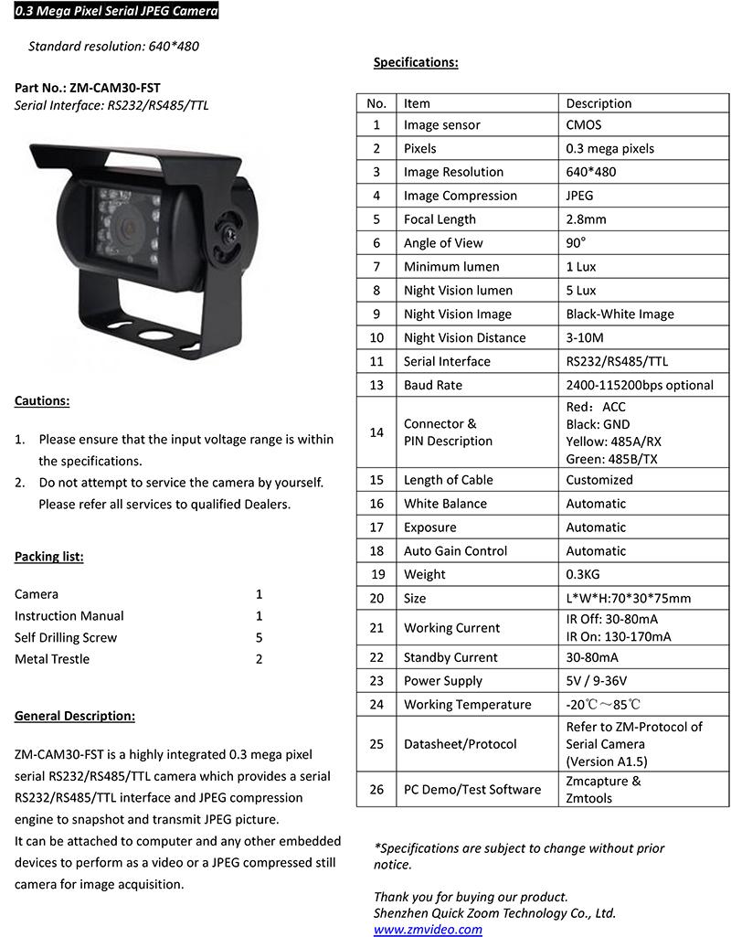 Cctv Camera China Rs232 Rs485 Ttl Night Vision,Cctv Camera