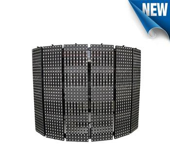 Indoor Ultra Thin Flexible Led Mesh Scree Moving Led