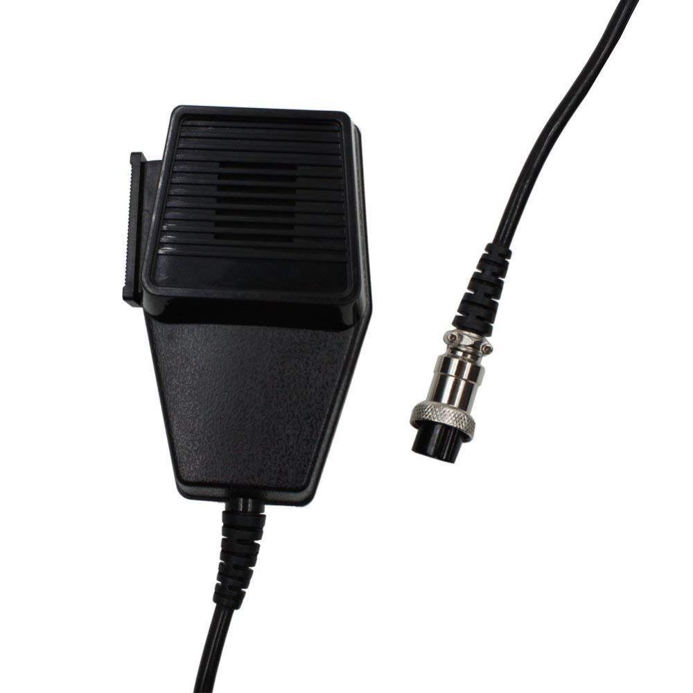 medium resolution of get quotations kenmax 4 pin replacement speaker mic microphone for walkie talkie ham radio car cb radio cobra