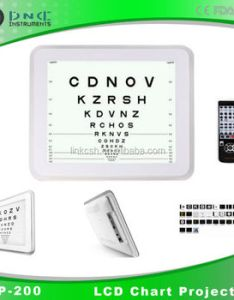 Digital acuity chart lcd vision also buy visual rh alibaba