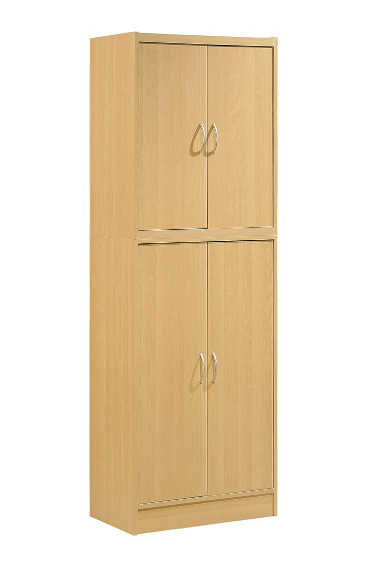 Buy Hodedah 4 Door Kitchen Pantry With Four Shelves White In Cheap Price On M Alibaba Com