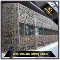 Facade Panel Laser Cutting Perforated Outdoor Aluminium ...