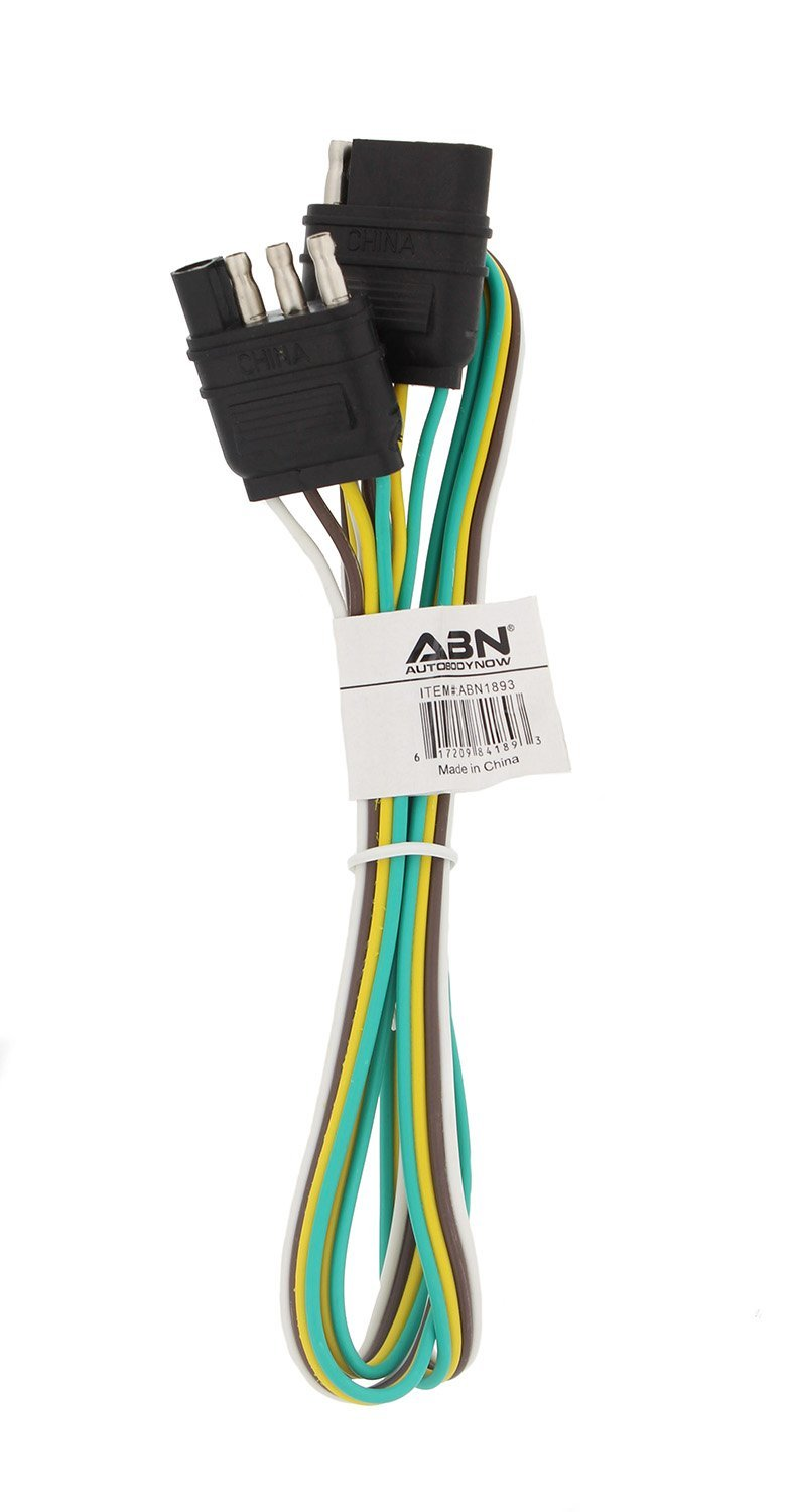 medium resolution of get quotations abn trailer wire extension 4 foot 4 way 4 pin plug